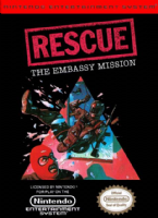 Nintendo NES: Rescue The Embassy Mission - Cart Only